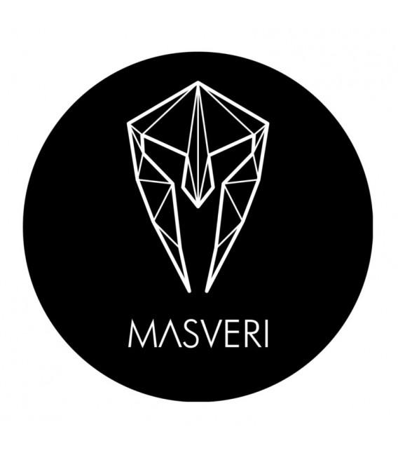 MASVERI - NAKLEJKA 9CM